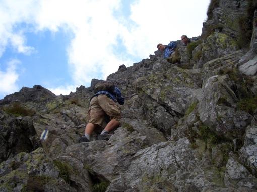 Climbing between Poland and Slovakia