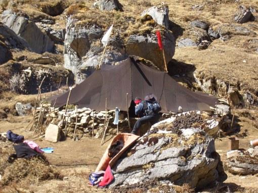 yak herders tent