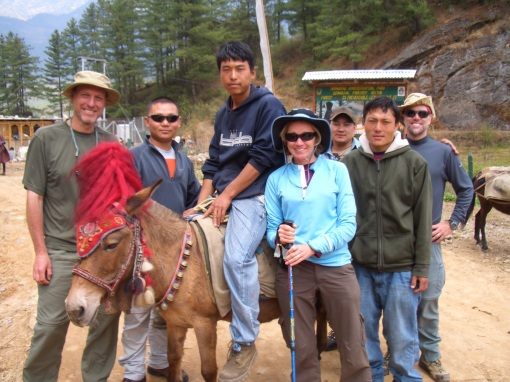 Our Bhutanese team