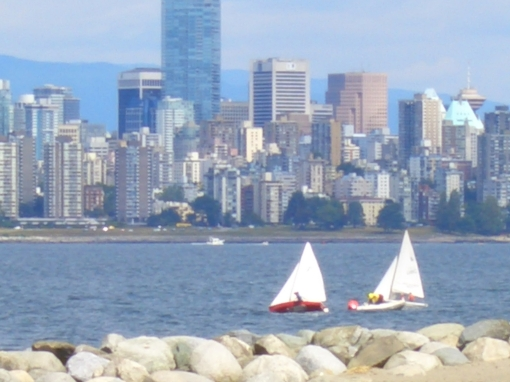 Sailing in Vancouver